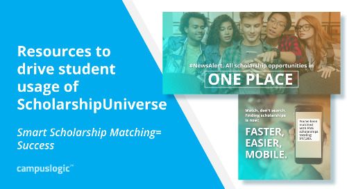 ScholarshipUniverse Rollout: How to Maximize Student Engagement