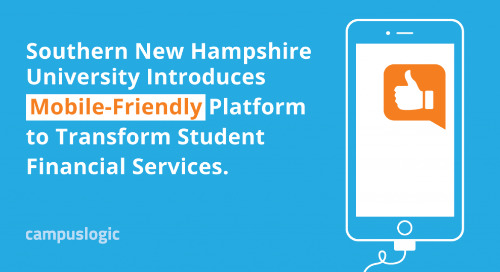Southern New Hampshire University Introduces Mobile-Friendly Platform to Transform Student Financial Services