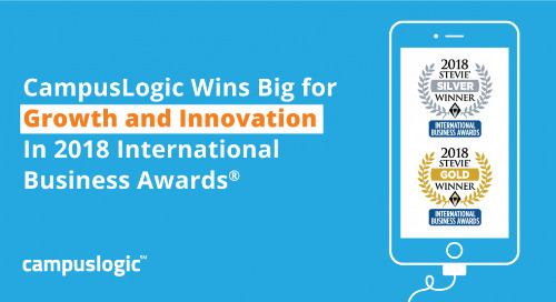CampusLogic Wins Big for Growth and Innovation In 2018 International Business Awards