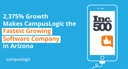 2,375% Growth Makes CampusLogic the Fastest Growing Software Company in Arizona