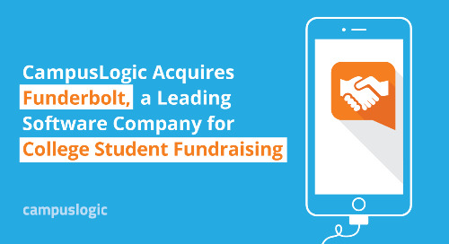 CampusLogic Acquires Funderbolt, a Leading Software Company for College Student Fundraising