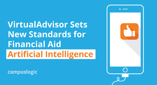 VirtualAdvisor by CampusLogic Sets New Standards for Financial Aid Artificial Intelligence