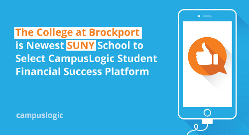 The College at Brockport is Newest SUNY School to Select CampusLogic Student Financial Success Platform