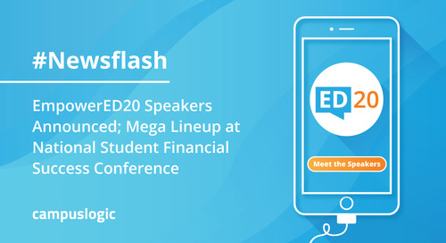 EmpowerED20 Speakers Announced; Mega Lineup at National Student Financial Success Conference