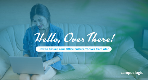 Hello, Over There! How to Ensure Your Office Culture Thrives from Afar