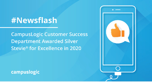 CampusLogic Customer Success Department Awarded Silver Stevie® for Excellence in 2020