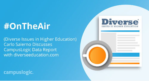 Carlo Salerno Discusses CampusLogic Data Report with diverseeducation.com
