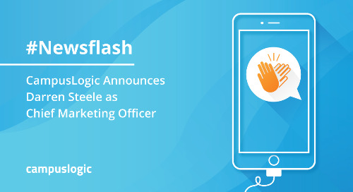 CampusLogicAnnounces Darren Steele as Chief Marketing Officer