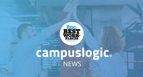 Inc. Magazine Reveals CampusLogic Is One of the Best Workplaces for 2020