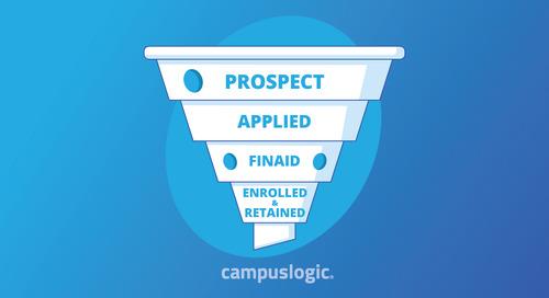 Higher Ed's Leaky Enrollment Funnel [Infographic]