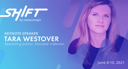 CampusLogic announces New York Times Bestselling Author Tara Westover as Shift Summit Keynote Speaker