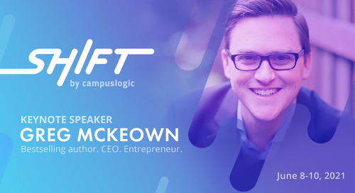 Bestselling Author and Speaker Greg McKeown to Deliver Keynote at Shift Summit
