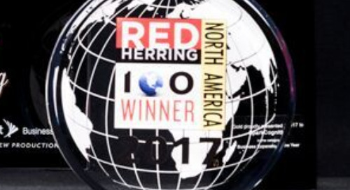 SparkCognition chosen as a 2017 Red Herring Top 100 North America Winner