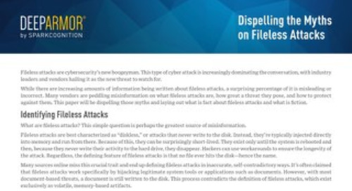 Dispelling the Myths on Fileless Attacks