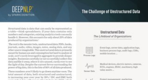 White Paper: The Challenge of Unstructured Data