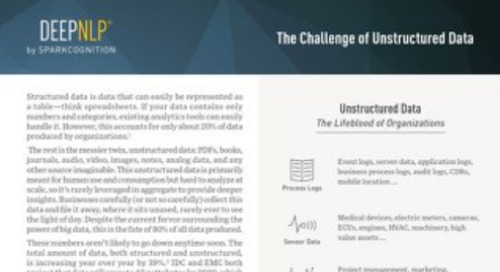 The Challenge of Unstructured Data