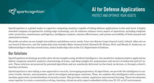 AI for Defense Applications