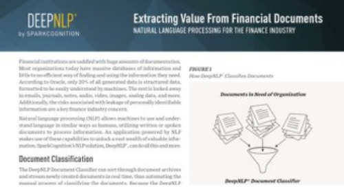 Extracting Value from Financial Documents