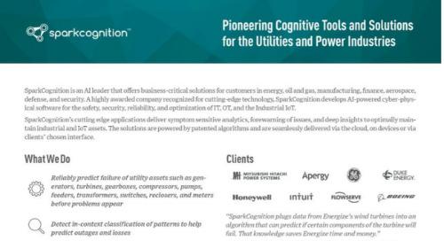 SparkCognition Cognitive Tools