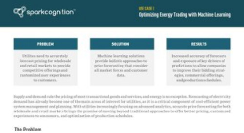 Use Case: Optimizing Energy Trading with Machine Learning
