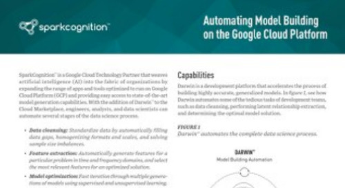 Automating Model Building on the Google Cloud Platform