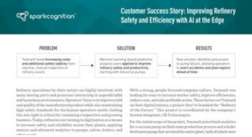 Customer Success Story: Improving Refinery Safety and Efficiency with AI at the Edge