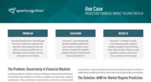 Use Case: Predicting Financial Market Regimes with AI