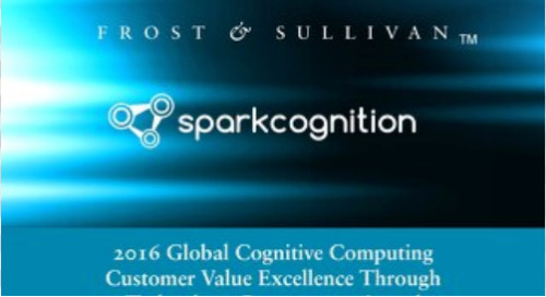 2016 Global Cognitive Computing Customer Value Excellence Through Technology Convergence Award