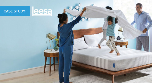 By offering installments, Leesa opens doors for customers.