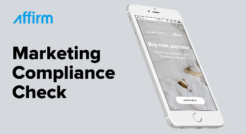 Simple steps to ensure your Affirm marketing is compliant with federal financial regulations