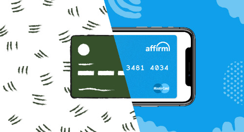 Infographic: How Affirm complements a private label credit card