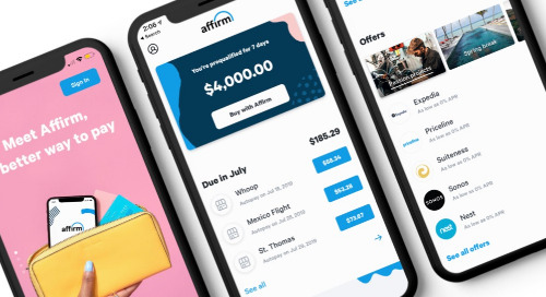 The Affirm app: Designed with shopping in mind