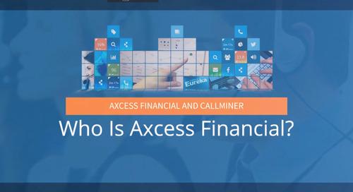 Access Financial Customer Success Story