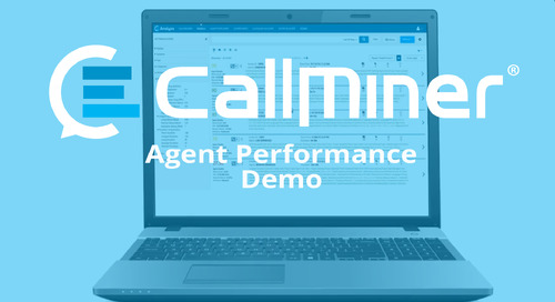 Agent Performance & Contact Center Efficiency Demo