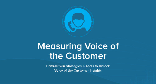 Measuring the Voice of the Customer: Data Driven Strategies & Tools to Unlock Voice of the Customer Insight