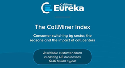 US CallMiner Index: Consumers Switch By Sector, The Reasons and the Impact of Call Centers