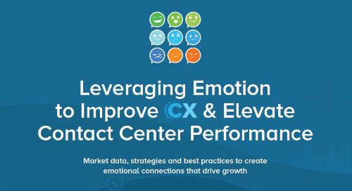 Leveraging Emotion to Improve CX & Elevate Contact Center Performance