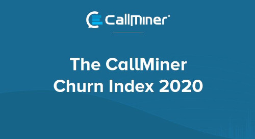 UK CallMiner Churn Index 2020