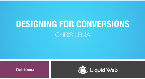 Webinar: How to Design Your eCommerce Site for Conversions