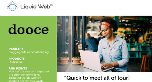 """Quick to meet all of [our] needs"" - Dooce Case Study"