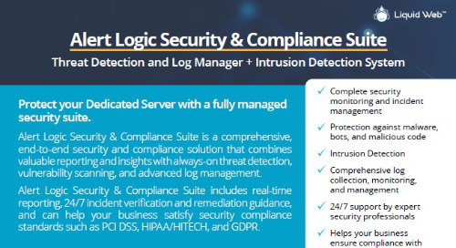 Alert Logic Security & Compliance Suite | Complete End-to-End Security