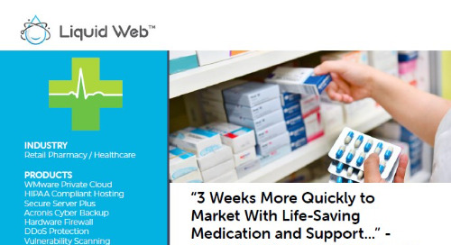 """""""3 Weeks More Quickly to Market With Life-Saving Medication and Support..."""" - Specialist Pharmacy Case Study"""