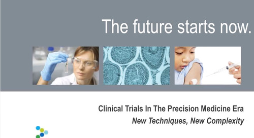 Webinar: Clinical Trials in the Precision Medicine Era