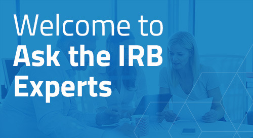 An Introduction to Ask the IRB Experts Forum