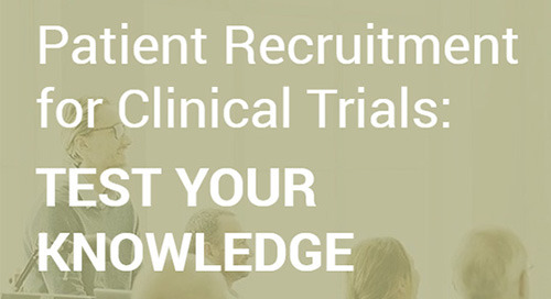 QUIZ: The State of Patient Recruitment