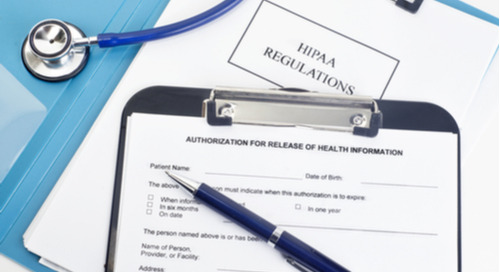 How should a site document a missing signature on a HIPAA authorization form?