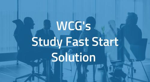 WCG's Study Fast Start Solution