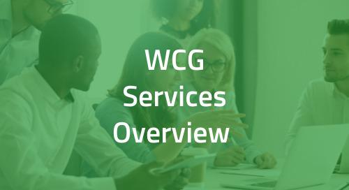 WCG Trifecta Study Training Capabilities