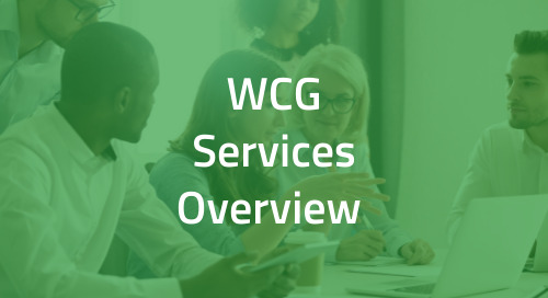 WCG Independent Site Network for Sponsors and CROs