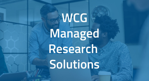 WCG Managed Research Solutions for Independent Sites